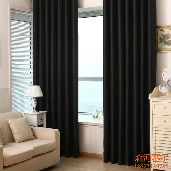 办公窗帘介绍:      产品名称:办公纯色遮光窗帘      材质:聚酯纤维